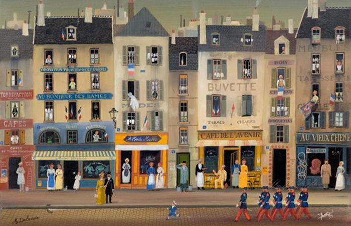 Artist Spotlight: Michel Delacroix's Majestic Parisian Cityscapes