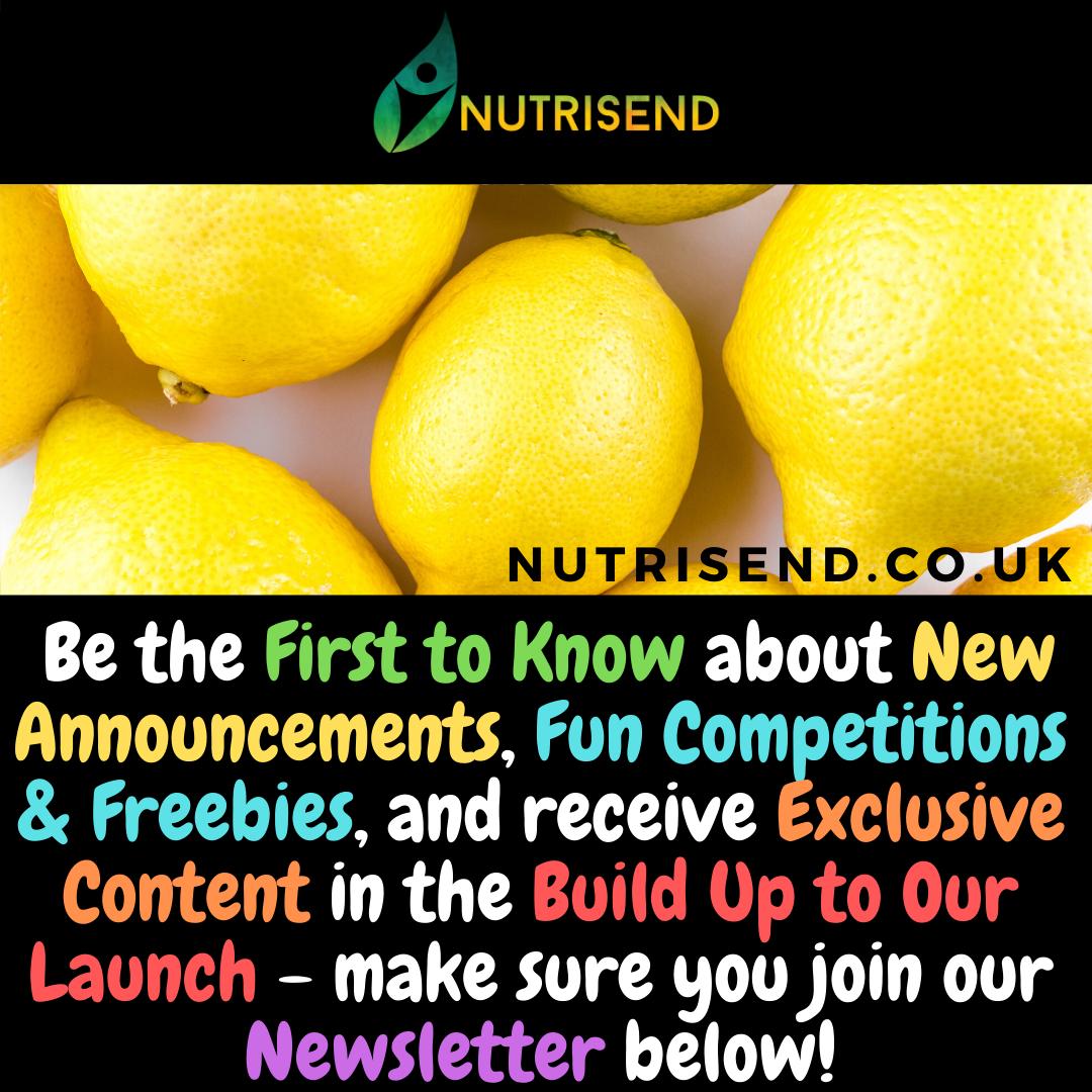 Join the NutriSend Newsletter