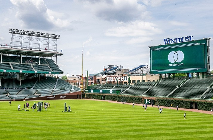 e1485f80153 Step onto Wrigley Field for a Baseball 101 clinic – September 15: In  Chicago, Illinois