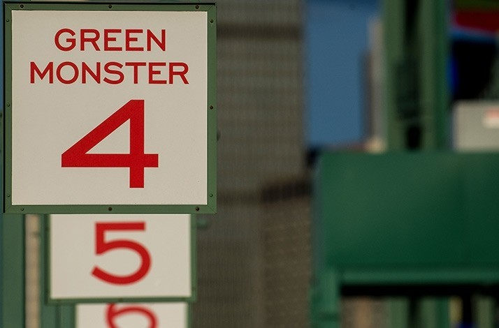 Grab two tickets to see the Boston Red Sox from the Green