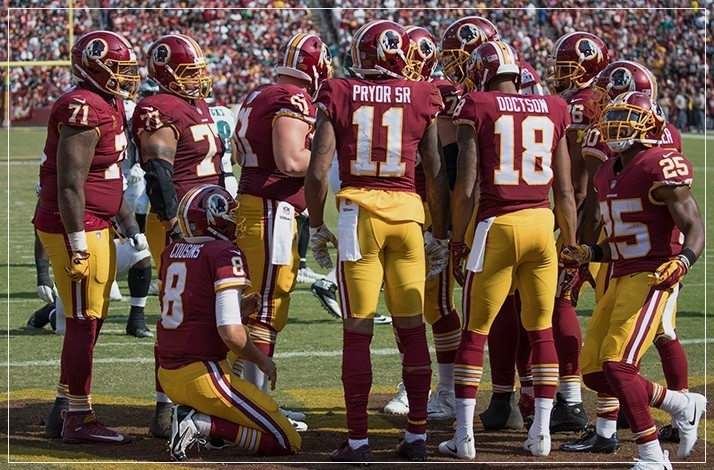 official photos f95dd e9f7d Washington Redskins - Washington Redskins Jersey Signed by ...