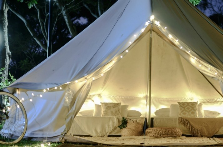 Go glamping on the beach on Singapore's resort island: In Singapore, Singapore