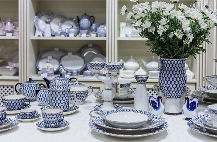 Exclusive Tableware And Home Decor Items From Porcelain In Moscow Russia