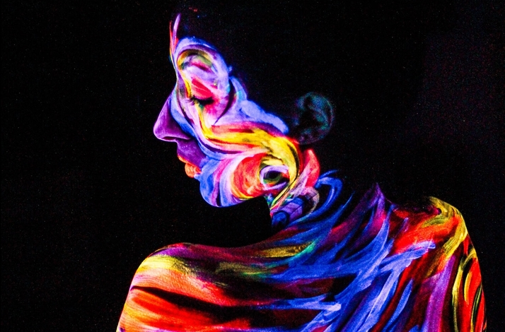 Glow In The Dark Body Painting Class For Couples At Denart