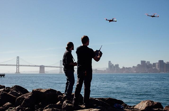Drone-Flying Lesson Taught by a Duo of Aerial Robotic Experts: In