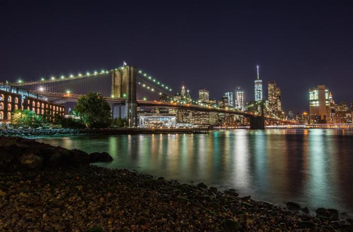Night Photography Lesson Brooklyn Bridge And Dumbo In Brooklyn
