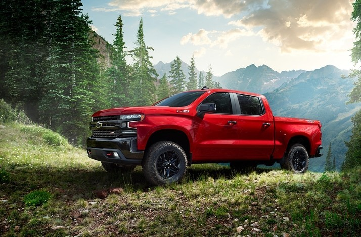 New 2019 Chevy Silverado with an Earthquake Survival Package