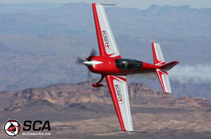 Ride Along in a Stunt Plane with a Professional Sky Combat