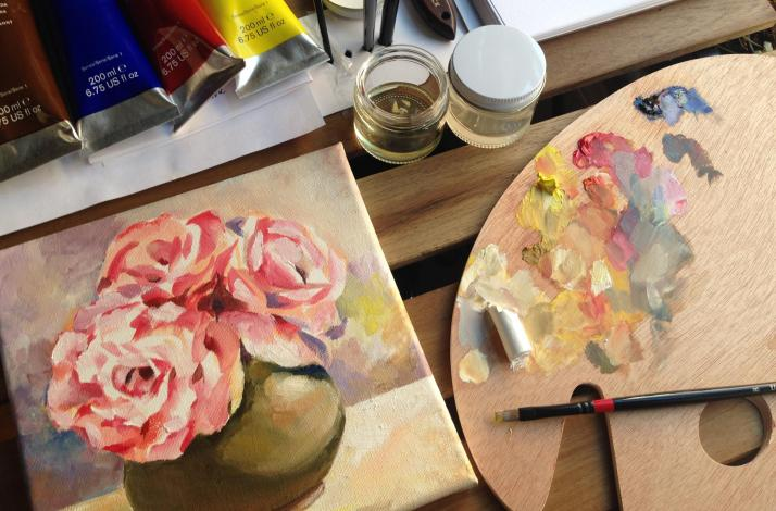 Private Oil Painting Workshop — for Anyone: In San Francisco, California