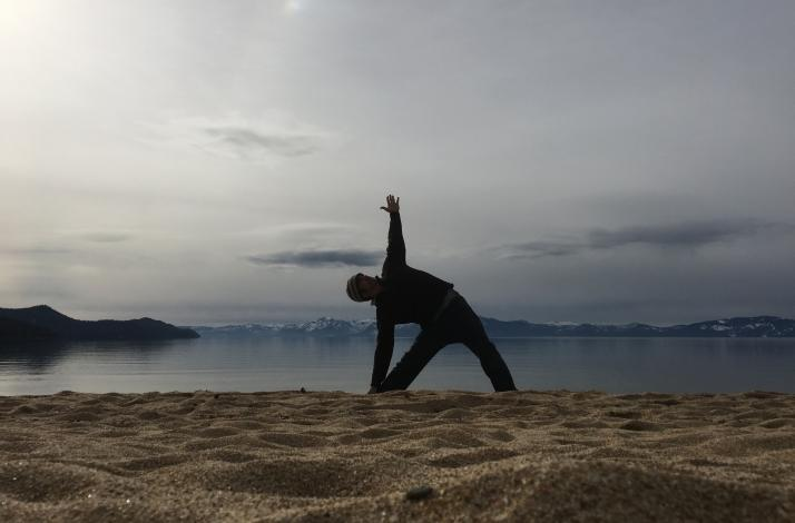 Find Tahoe Hike To Private Outdoor Yoga Class In South Lake Tahoe California