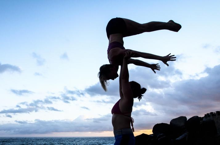 Private AcroYoga and Thai Massage Session in SF: In San
