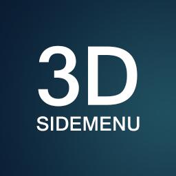 3D Sidemenu