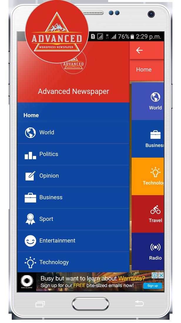 Advanced-wordpress-newspaper-ionic-template-cordova-plugins