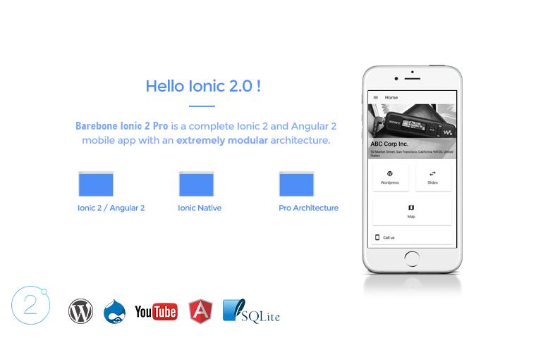 Barebone-ionic-2---full-application - Ionic Marketplace