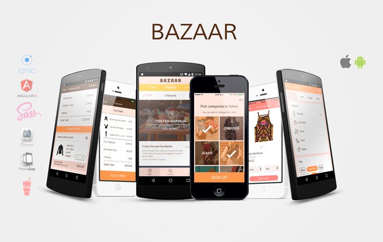 Bazaar Ionic Multi App Template Ionic Marketplace