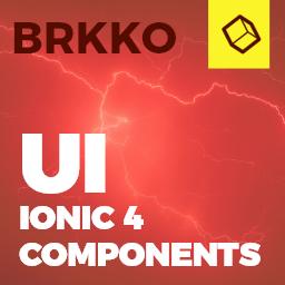 Brkko  Ionic 4 / Angular 7 UI Theme / Template App  Multipurpose Starter App
