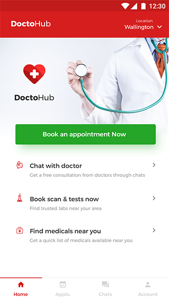Doctor-appointment-booking-app - Ionic Marketplace