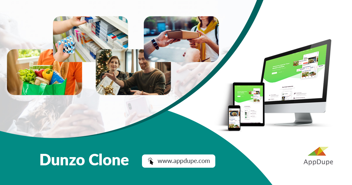 Dunzo Clone App