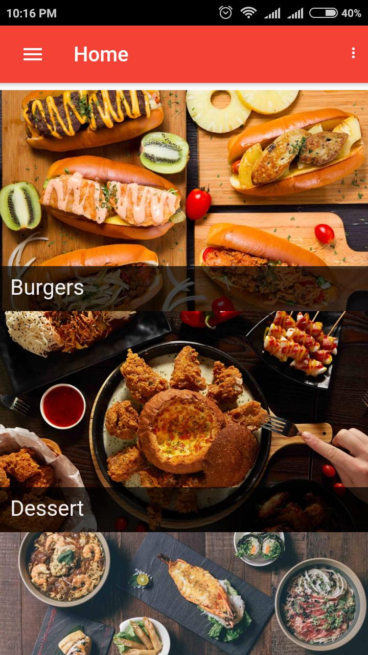 Firebase-food-order - Ionic Marketplace