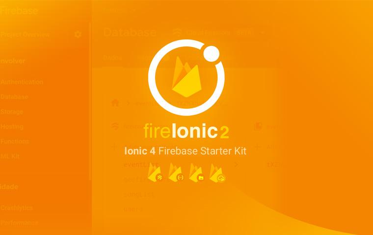 fireIonic - Ionic 3 Firebase Starter Kit - showcase - Ionic