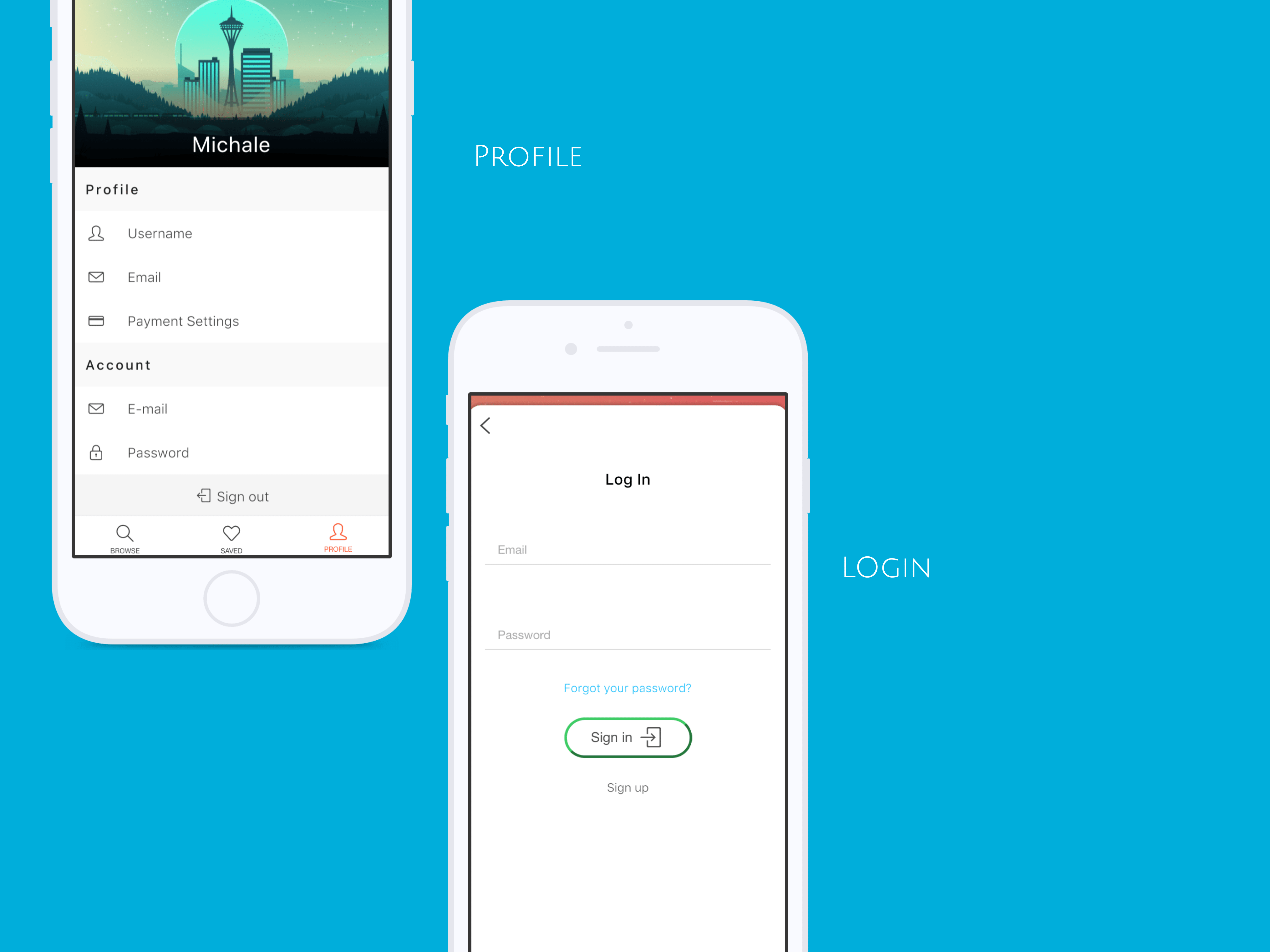 A good UI/UX Template App with Ionic Framework - 7