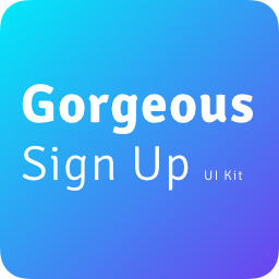 Gorgeous UI Pack - Signup Screens