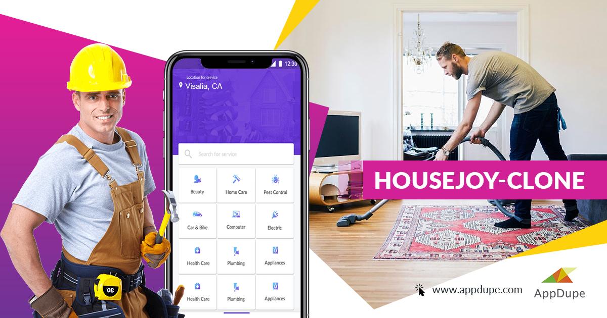 housejoy clone app