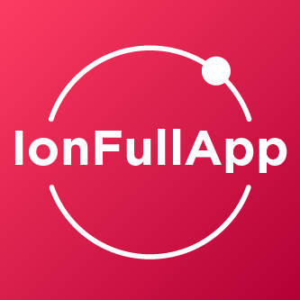 IonFullApp - Ionic Starter app with lots of integrations