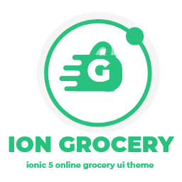 Ion Grocery - Ionic 5 Online Grocery App UI Theme