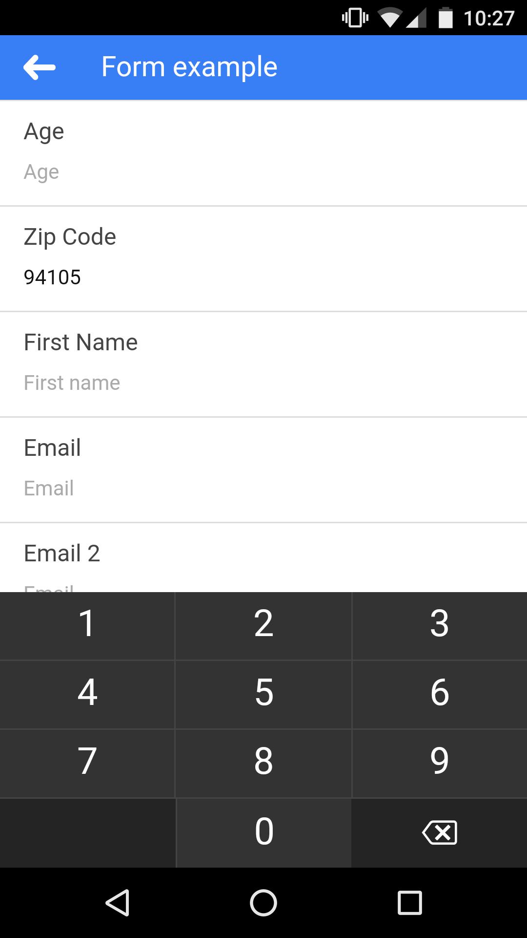 Ion-numeric-keyboard - Ionic Marketplace