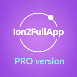 Ion2FullApp - Full Ionic 2 App Template PRO Version