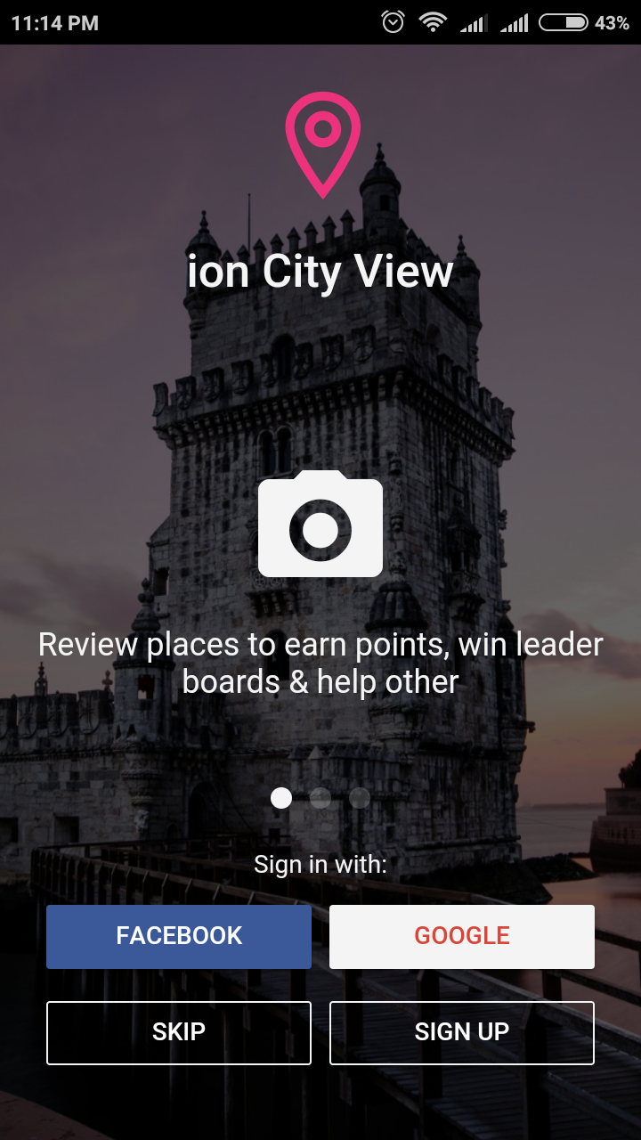 Ioncity - Ionic Marketplace