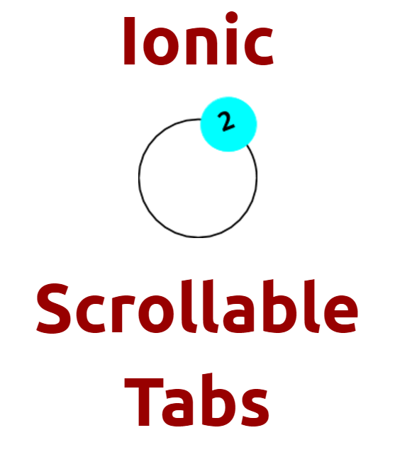 Ionic 2 Scrollable Tabs