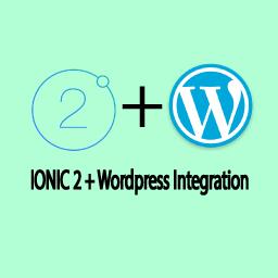 Ionic 2 Wordpress Integration