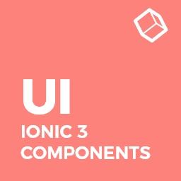 Ionic 3 / Angular 6 UI Theme / Template App - Multipurpose Starter App - Flat Red Light