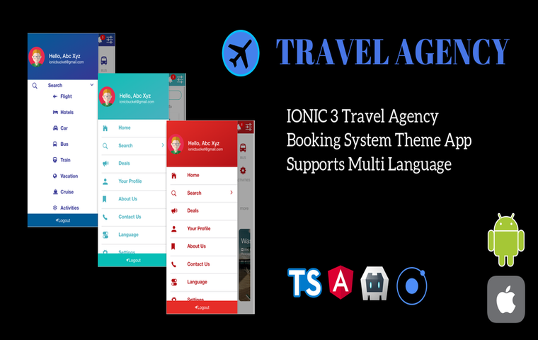 Ionic-3-travel-agency-booking-system-app - Ionic Marketplace