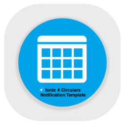 Ionic 4 Circular and Notices Template