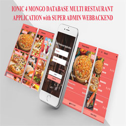 IONIC 4 MONGO DB MULTI RESTAURANT MOBILE APPLICATION with SUPER ADMIN WEBBACKEND