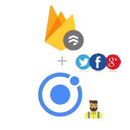 Ionic 4 with firebase social login in 6 steps