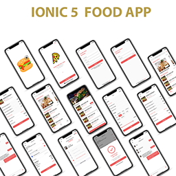 Ionic 5 Food Delivery App Template