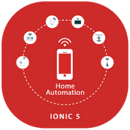 Ionic 5 Home Automation Template