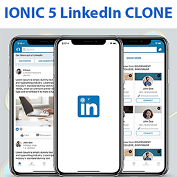 Ionic 5 Linkedin App Template Ionic Marketplace