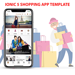 Ionic 5 Shopping App Template