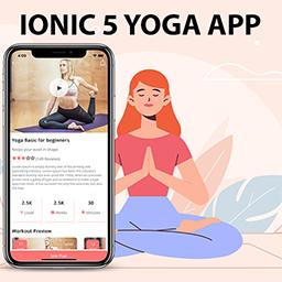 Ionic 5 Yoga / Fitness App Template