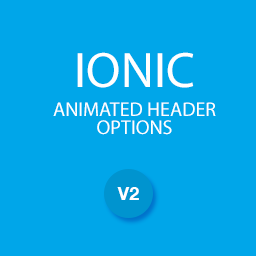 Ionic animated header options