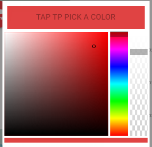 Ionic-color-picker - Ionic Marketplace