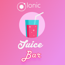 Ionic Juice bar Theme