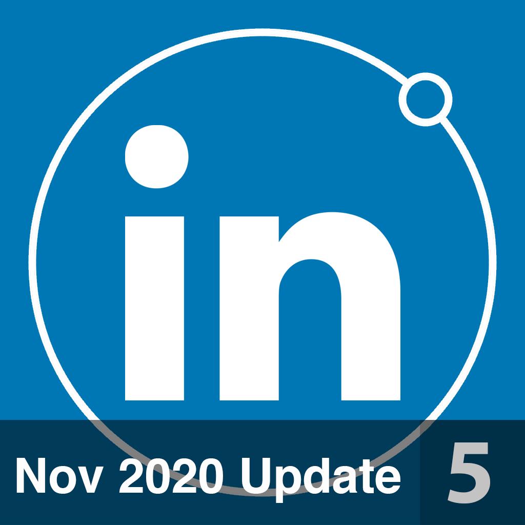 Linkedin 5 Nov 2020