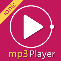 ionic MP3 music player