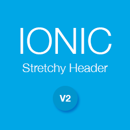 Ionic Stretchy Header